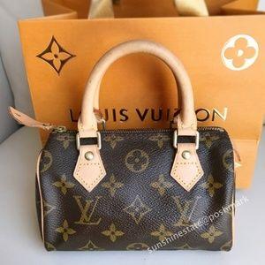 Louis Vuitton Monogram nano mini size speedy bag